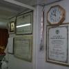 Il piccolo laboratorio artigianale del maestro Paolo